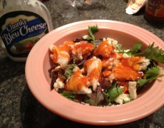 Big Boy buffalo chicken salad